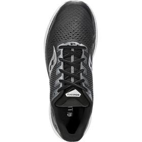 saucony Triumph 18 Shoes Men charcoal/white